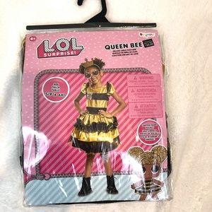 LOL Surprise Queen Bee Costume New in Bag- SZ 4-6X